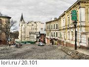 Купить «Киев, Андреевский спуск», фото № 20101, снято 9 января 2007 г. (c) Лисовская Наталья / Фотобанк Лори