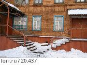 Купить «Крылечко», фото № 20437, снято 13 января 2007 г. (c) Николай Гернет / Фотобанк Лори