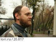 Купить «Мужской античный профиль», фото № 20817, снято 22 октября 2006 г. (c) Захаров Владимир / Фотобанк Лори