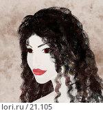 Купить «Молодая цыганка», иллюстрация № 21105 (c) Tamara Kulikova / Фотобанк Лори