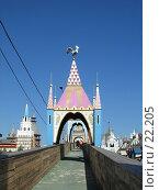 Купить «Ворота в Русское подворье (Измайлово, Москва)», фото № 22205, снято 10 сентября 2005 г. (c) Fro / Фотобанк Лори