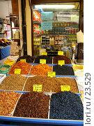 Купить «Сухофрукты и орехи», фото № 23529, снято 6 ноября 2006 г. (c) Валерий Шанин / Фотобанк Лори