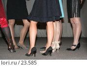 Купить «Женские ножки», фото № 23585, снято 5 марта 2007 г. (c) Евгений Батраков / Фотобанк Лори