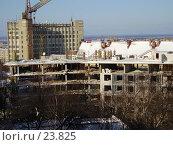 Строительство монолитного здания. Стоковое фото, фотограф Макс / Фотобанк Лори