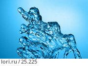 Купить «Водяная абстракция», фото № 25225, снято 12 декабря 2019 г. (c) Сергей Лаврентьев / Фотобанк Лори