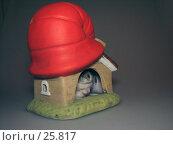Купить «Хомяк в домике», фото № 25817, снято 18 марта 2007 г. (c) Fro / Фотобанк Лори