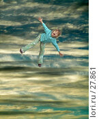 Купить «Допрыгалась, или полет во сне и наяву», фото № 27861, снято 15 ноября 2019 г. (c) Александр Тараканов / Фотобанк Лори