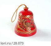 Купить «Деревянный колокольчик из Вологды», фото № 28073, снято 24 февраля 2007 г. (c) Павел Преснов / Фотобанк Лори