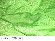 Купить «Зеленая блестящая синтетическая ткать», фото № 29093, снято 31 марта 2007 г. (c) Golden_Tulip / Фотобанк Лори