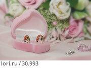 Свадебные кольца. Стоковое фото, фотограф Kupreenko Natalia / Фотобанк Лори