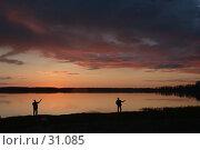 Купить «Рыбаки», фото № 31085, снято 25 мая 2018 г. (c) Игорь Соколов / Фотобанк Лори