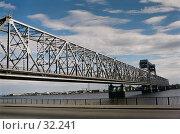 Купить «Железнодорожный мост», фото № 32241, снято 18 августа 2018 г. (c) Евгений / Фотобанк Лори