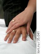 Свадебные кольца, wedding rings, фото № 35041, снято 16 сентября 2005 г. (c) Владимир / Фотобанк Лори