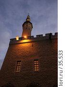 Ночной Таллин (2007 год). Стоковое фото, фотограф Федюнин Александр / Фотобанк Лори