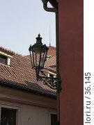 Пражский фонарь. Стоковое фото, фотограф Федюнин Александр / Фотобанк Лори