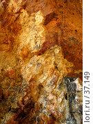 Купить «Скала, выход геологических пород разного цвета», фото № 37149, снято 24 мая 2007 г. (c) Eleanor Wilks / Фотобанк Лори