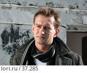 Купить «Актёр Константин Хабенский», фото № 37285, снято 18 марта 2006 г. (c) Сергей Лаврентьев / Фотобанк Лори