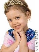 Купить «Маленькая принцесса», фото № 37597, снято 29 апреля 2007 г. (c) Вадим Пономаренко / Фотобанк Лори
