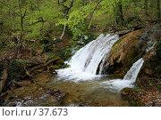 Порог на реке Улу-Узень. Стоковое фото, фотограф Михаил Баевский / Фотобанк Лори