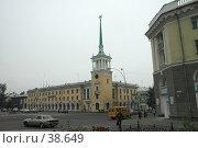 Купить «Площадь в городе Ангарске», фото № 38649, снято 8 сентября 2005 г. (c) Саломатов Александр Николаевич / Фотобанк Лори