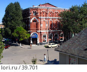 Купить «Ейск, Дом Офицеров», фото № 39701, снято 20 сентября 2004 г. (c) A Челмодеев / Фотобанк Лори