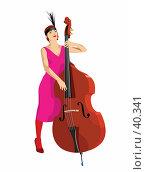 Купить «В джазе только девушки», иллюстрация № 40341 (c) Сергей Лаврентьев / Фотобанк Лори