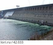 Купить «Братская ГЭС», фото № 42033, снято 14 апреля 2004 г. (c) Саломатов Александр Николаевич / Фотобанк Лори
