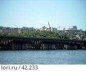 Купить «Воронеж. Чернавский мост», фото № 42233, снято 5 июня 2004 г. (c) Дмитрий Сарычев / Фотобанк Лори