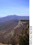 Купить «Обрывы Северного Демерджи», фото № 42533, снято 5 мая 2007 г. (c) Михаил Баевский / Фотобанк Лори