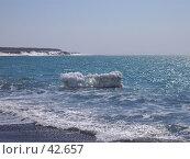 Купить «Кусок льда в океане», фото № 42657, снято 30 апреля 2007 г. (c) Maxim Kamchatka / Фотобанк Лори