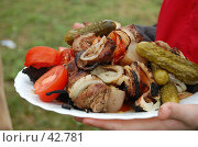 Купить «Шашлык», фото № 42781, снято 12 мая 2007 г. (c) Golden_Tulip / Фотобанк Лори