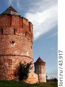 Купить «Башни Спасо-Евфимиева монастыря, Суздаль», фото № 43917, снято 13 августа 2006 г. (c) Vladimir Fedoroff / Фотобанк Лори