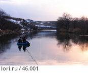 Купить «Рыбаки», фото № 46001, снято 17 апреля 2007 г. (c) Талдыкин Юрий / Фотобанк Лори