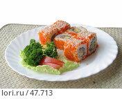 Купить «Японский завтрак», фото № 47713, снято 17 мая 2007 г. (c) Иван / Фотобанк Лори