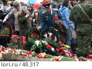 Купить «Зарисовки в День Победы», фото № 48317, снято 9 мая 2007 г. (c) Сергей Байков / Фотобанк Лори