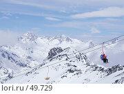 Купить «Зимний отдых в горах», фото № 49729, снято 19 августа 2018 г. (c) Соснина Светлана / Фотобанк Лори