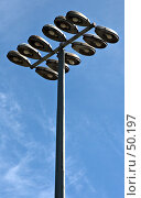 Купить «Осветительный столб», фото № 50197, снято 1 июня 2007 г. (c) Михаил Браво / Фотобанк Лори