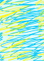 Фон, желтые и голубые полоски, иллюстрация № 50393 (c) Вера Тропынина / Фотобанк Лори