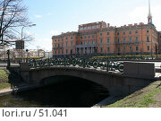 Купить «Санкт-Петербург, Инженерный замок», фото № 51041, снято 1 мая 2007 г. (c) Александр Секретарев / Фотобанк Лори