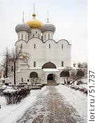 Купить «Смоленский собор», фото № 51737, снято 24 декабря 2005 г. (c) urchin / Фотобанк Лори