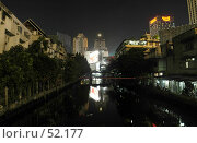 Бангкок ночь. Стоковое фото, фотограф Борис Никитин / Фотобанк Лори
