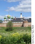 Купить «Суздаль. Спасо-Евфимиев монастырь», фото № 52769, снято 11 июня 2007 г. (c) Julia Nelson / Фотобанк Лори