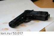 Купить «Пистолет», фото № 53017, снято 16 июня 2007 г. (c) Дмитрий Сарычев / Фотобанк Лори