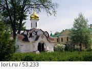 Купить «Дмитров. Борисоглебский монастырь. Весна», фото № 53233, снято 27 мая 2007 г. (c) Julia Nelson / Фотобанк Лори
