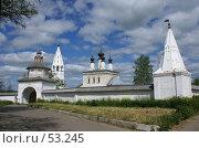 Купить «Суздаль. Александровский монастырь», фото № 53245, снято 11 июня 2007 г. (c) Julia Nelson / Фотобанк Лори