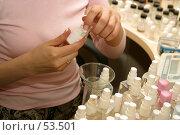 Купить «Парфюмер», фото № 53501, снято 25 мая 2005 г. (c) Морозова Татьяна / Фотобанк Лори