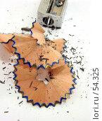 Купить «Стружки от карандаша», фото № 54325, снято 16 июня 2007 г. (c) Вера Тропынина / Фотобанк Лори