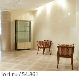 Купить «Интерьер. Холл перед входом в гостиную.», фото № 54861, снято 19 июня 2006 г. (c) Ирина Мойсеева / Фотобанк Лори