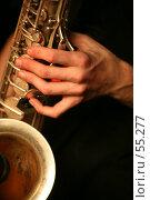 Купить «Саксофон», фото № 55277, снято 19 ноября 2006 г. (c) Морозова Татьяна / Фотобанк Лори