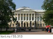 Купить «Санкт-Петербург, Михайловский дворец», фото № 55313, снято 30 мая 2007 г. (c) Александр Секретарев / Фотобанк Лори